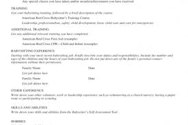 Nanny Job Description On Resume by Babysitter Resume Duties And Responsibilities Reentrycorps