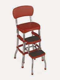 retro kitchen chair with step stool video and photos