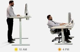 Standing At Your Desk Vs Sitting How Should You Really Be Standing At Your Desk While Wo