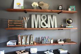 Wooden Shelves Diy by How To Build Industrial Wood Shelves Modish U0026 Main