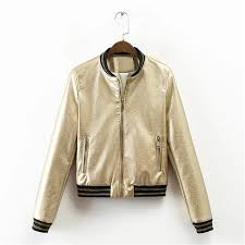 black and gold motorcycle jacket compare prices on leather jacket gold online shopping buy low