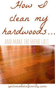 Cleaning Hardwood Floors Naturally How To Make Hardwood Floors Shine Like They Are White