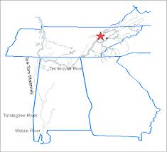 tombigbee waterway map orps information faq