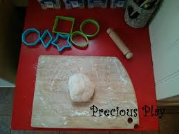 easy salt dough play microwave recipe precious play
