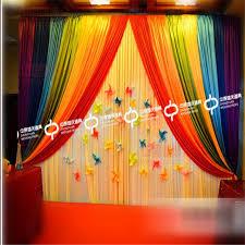 wedding backdrop font express free rainbow color font b wedding b font stage backdrops