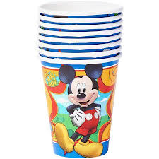 party cups mickey mouse clubhouse paper party cups 9 oz 8ct walmart