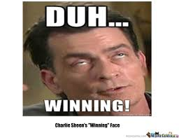 Winning Meme - charlie sheen s winning face by matthew day meme center