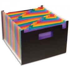 boite de rangement papier bureau trieur seatcase 24 compartiments trieur de bureau porte revue seat