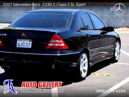2007 mercedes c class 2 5 l sport 2007 mercedes c230 c class 2 5l sport la auto gallery