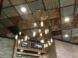 Tin Ceiling Lights Corrugated Tin Ceiling