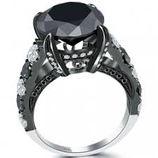 black wedding rings for black diamond rings nyc black diamond engagement rings