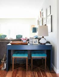 Dining Room With Sofa Redefining The Sofa Table Add Chairs Apartment Therapy