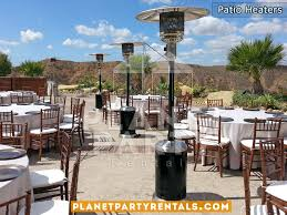 party rentals san fernando valley patio heater rental party rentals tents tables chairs jumpers