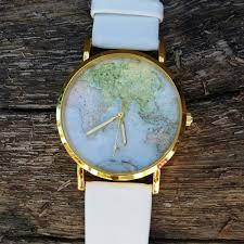 World Map Watch Orologio Mappa Del Mondo Preordine Orologio Unisex Mappa
