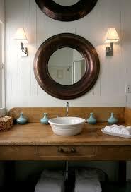 rustic vanity mirrors for bathroom best 25 lights ideas on
