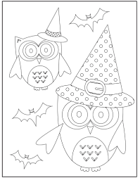 Free Halloween Coloring Page by Free Halloween Coloring Pages