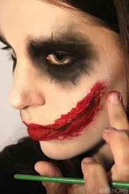 Halloween Liquid Latex Makeup by Freaky Femme Joker Makeup Tutorial For Halloween