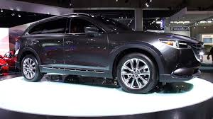 mitsubishi mazda mazda cx 9 takes mazda u0027s values to a larger scale