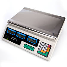 88lb digital weight scale price computing retail food meat scales