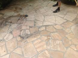 flagstone patio cleaning u0026 natural stone refinishing in marin ca