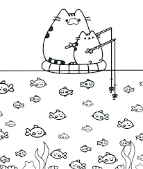 pusheen coloring book pusheen pusheen the cat kawaii diy for