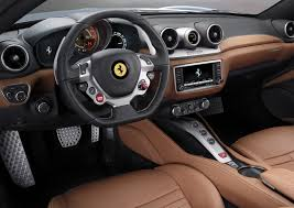 family car interior customize the new ferrari california t online