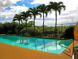 maui ocean palms luxury wailea vacation home pool panoramic view