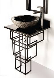 Rough In For Pedestal Sink Bathroom Sink Bowl Stand Eclife Modern Bathroom Vanity And Sink