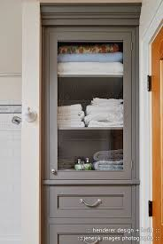 Towel Cabinet For Bathroom White Painted Storage Cupboard 172cm Linen Pantry Bathroom