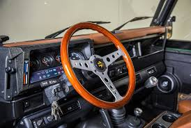 land rover steering wheel barbour and orvis are giving away a custom land rover defender