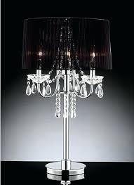 Chandelier Lamp Shades Canada Table Lamp Black Chandelier Table Lamp Uk Style Canada