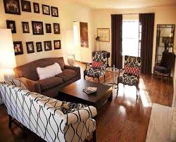 fair 20 living room decorating ideas for dark brown sofa design