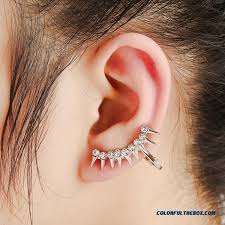 creative earrings cheap creative europe rivet ear jewelry diamond earrings