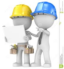 building project planning stock illustration image of profession