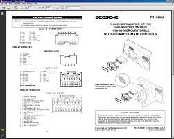 2004 ford taurus radio wiring diagram wiring diagram and schematic