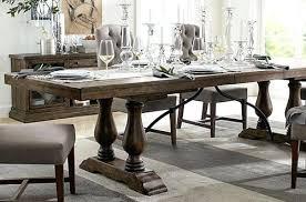 pottery barn dining room tables pottery barn pedestal table nhmrc2017 com