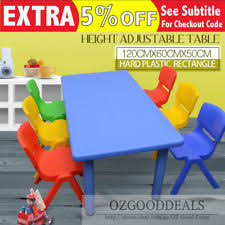kids plastic table and chairs children s plastic chairs and tables ebay