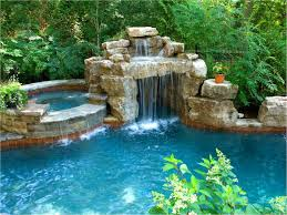 swimming pool rock slides florida swimming pool waterfalls