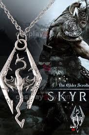 skyrim pendant necklace images The elder scrolls v skyrim cosplay necklace pendant new cosplaysky jpg