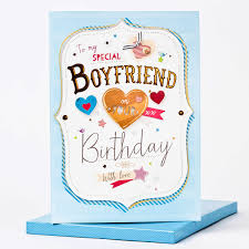 boxed birthday card to my special boyfriend only 1 99