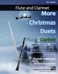 more christmas duets for flute and clarinet wild music publications