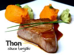 cuisiner thon steak de thon sauce teriyaki cookismo recettes saines faciles