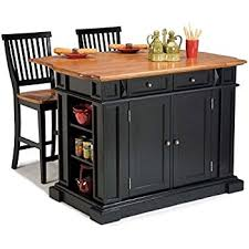 kitchen ideas pictures islands in monarch style amazon com home styles 5003 94 kitchen island black and