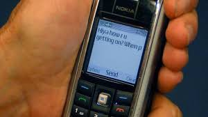 text message sent 20 years ago today itv news