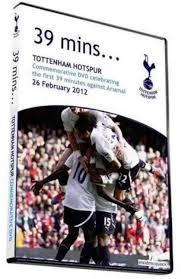 Arsenal Tottenham Meme - tottenham release commemorative dvd of first 39 minutes of arsenal