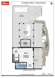 ocean shores floor plan 29 yamble drive ocean shores elders real estate