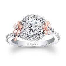flower engagement rings barkev s floral engagement ring 7936lt