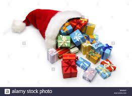 santa claus cap gifts christmas gifts present surprises packet