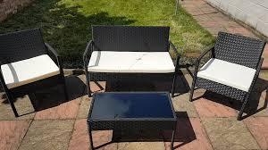 ebs rattan garden outdoor furniture patio sets sale clearance