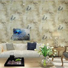 beibehang papel parede chinese floral birds wallpaper bedroom tv